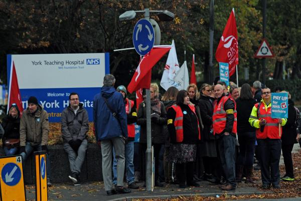 NHS strikes
