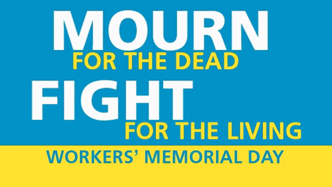 York trade unionists to honour the workplace dead