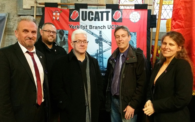 Yorkshire Regional TUC honours the martyrs of Health & Safety – pictures